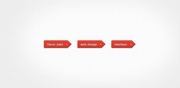Red Tag (WordPress Widget Included)