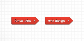Red Tag (WordPress Widget Included)